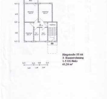 3- Zimmer Wohnung in Finow
