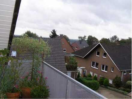 Helle Dachgeschoßwohnung mit tollem Blick und großem Südwest-Balkon