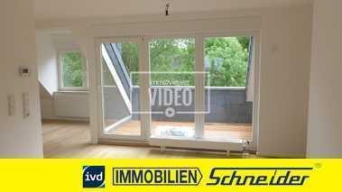 Großzügige, renovierte Dachgeschosswohnung mit Loggia in der Dortmunder Innenstadt zu vermieten.