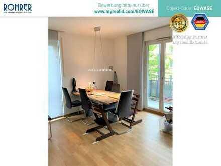 München Nymphenburg Am Hirschgarten - 4 Zimmer, Küche mit EBK, Bad m. WC, sep. Duschbad m. WC, 2 Bal