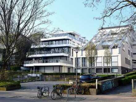 Luxus-Penthouse in Kiel - Rarität - Damperhof am kleinen Kiel mit Tiefgaragenstellplatz