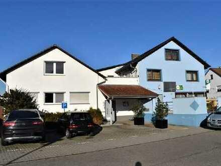 Wohn- und Geschäftshaus mit zweitem Betriebsgebäude in super Lage von Leopoldshafen