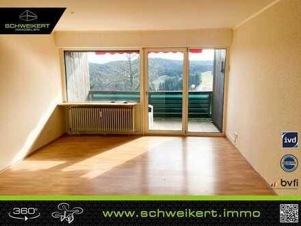 Panoramalage in Schonach: Gemütliche 2-Zimmer-Wohnung mit Wellnessfaktor