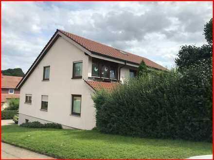 Tolle Dachgeschosswohnung mit GARTENANTEIL in einem Zweifamilienhaus!