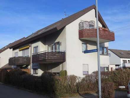 Schöne helle 2-Zimmer-Wohnung mit Balkon und EBK in Rutesheim