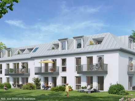 mitten im Leben: Zentral gelegene, gut geschnittene 2-Zimmer-Neubauwohnung mit Garten in Ramersdorf