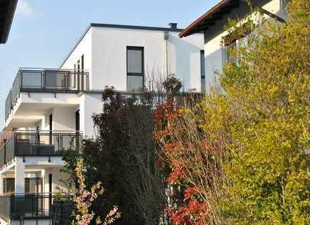 Erstbezug: exklusive 3-Zimmer-Erdgeschosswohnung mit Balkon in Frankfurt-Enkheim