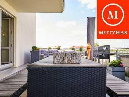 MUTZHAS - 4-Zimmer Wohnung mit riesiger Sonnenterrasse in Freiham