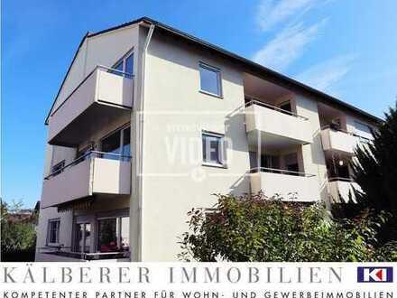 Gepflegte Wohnung mit großem Balkon in ruhiger Wohnlage im beliebten Gerlingen