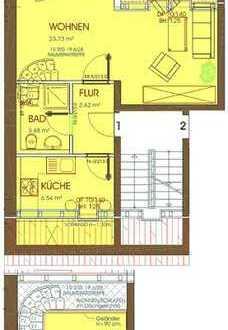 2 Raum Wohnung im Dachgeschoss