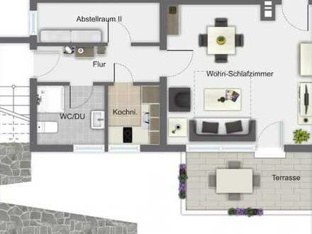 400 €, 33 m², 1,5 Zimmer