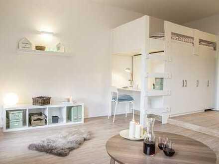 Wohn(t)räumchen im Campusglueck - teilmöbliertes Appartement - all inclusive Miete 579 €