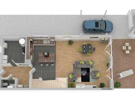 ERSTBEZUG - Wohnen in Wittlich KFW 55 - DHH - 4 Zimmer 132 m² mit Terrasse & Garage