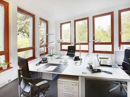 Modern möblierte Büroräume mit Sekretariatsservice