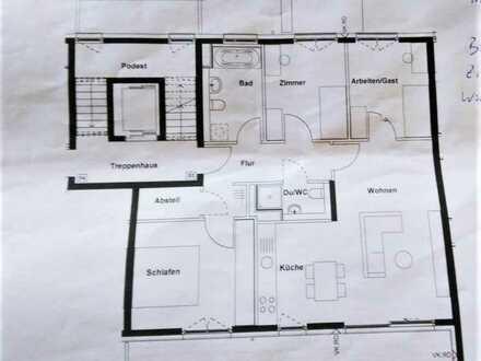 Schöne 4,5 Zimmer Wohnung mit Balkon