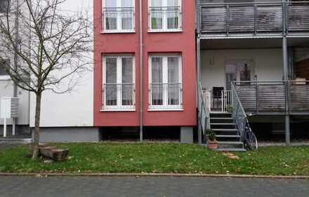 sehr schöne und hochwertig ausgestattete 2 ZKB Wohnung mit Balkon und Gartenanteil