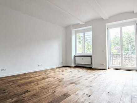 Erstbezug nach Sanierung: 4-Zi.-Loftwohnung mit Luxusausstattung in Toplage am Körnerpark