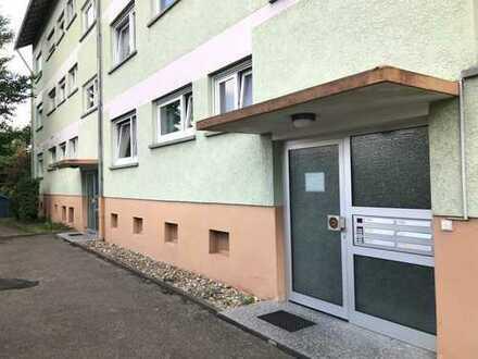 Schöne drei Zimmer Wohnung mit Südbalkon und Garage in Vaihingen an der Enz