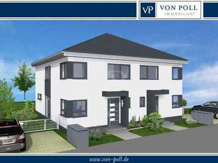 VON POLL - FRIEDRICHSDORF: Verwirklichen Sie Ihren Wohntraum - projektierte DHH am Dillinger Hang