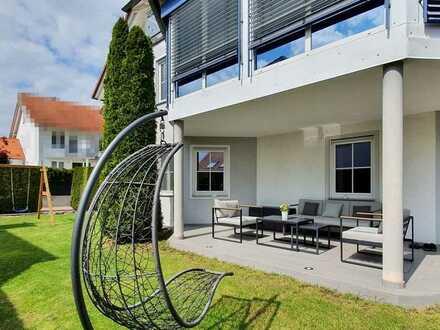 Exklusive Wohnung mit schönem Garten