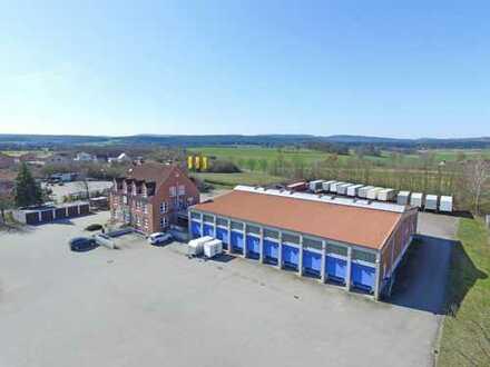 Hallen-/Lagerfläche mit ca. 560 m² mit Büro in idealer Lage zwischen Bayreuth und Kulmbach!