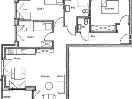 Neubau! 4-Zimmerwohnung im Erstbezug zu vermieten