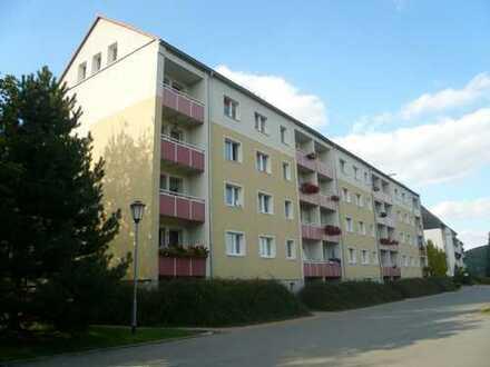 ***Sonnige 2-Raum Wohnung mit Balkon und Blick zur Augustusburg + Einbauküche***