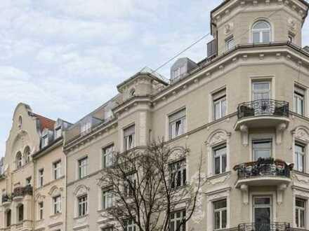 Herrschaftliche 4-Zi.-Altbauwohnung mit Balkon und Stuck - vermietet