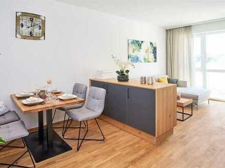 !Neubau! 2-Zimmer Wohnung im Betreuten Wohnen in Großmehring