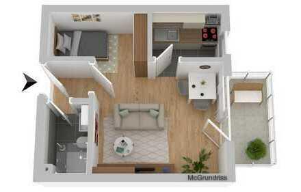 TOP Immobilie zur Kapitalanlage: Apartment in stadtnaher Lage