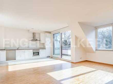 Moderne Endetagen-Wohnung am Stadtpark!