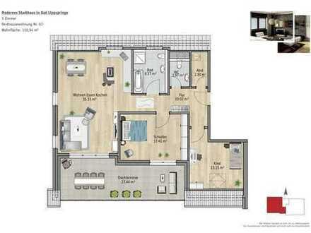 Hochwertige Penthousewohnung mit gr. Dachterrasse zum Süden