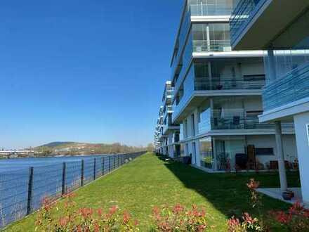 Joy am Ufer - Exklusives Wohnen, direkt am Wasser ! Erstbezug nach Baufertigstellung