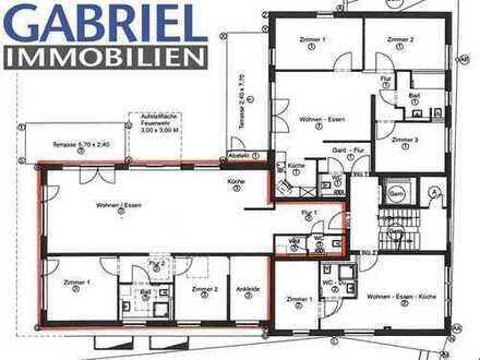 Neubau ! Großzügige und interessante 3 1/2 Zimmer-Erdgeschosswohnung