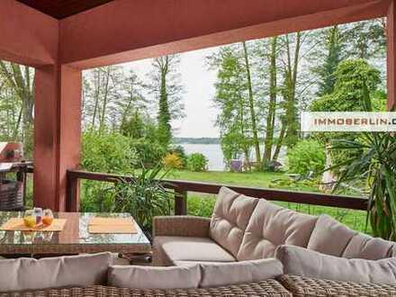IMMOBERLIN: Wasserlage! Anwesen mit großartigem Einfamilienhaus