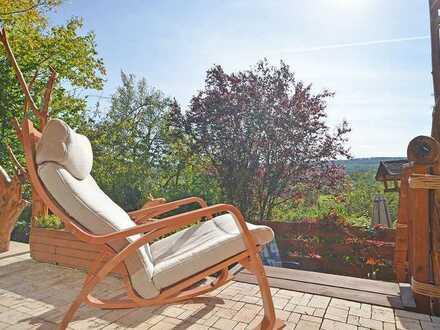 Paradies mit allem Komfort! Grundstück mit Wochenendhaus in Warmbronn