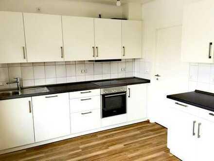Helle 3 Zimmerwohnung mit großer Terrasse und Einbauküche in Bad Friedrichshall Jagstfeld