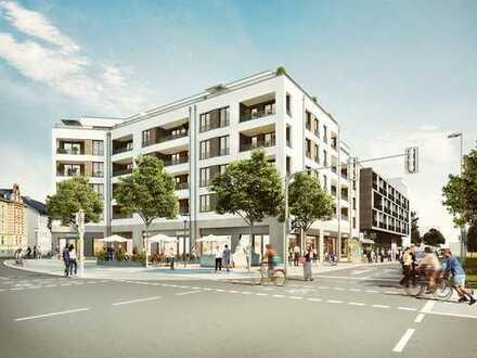 Urban leben am Stobäusplatz - Attraktive Eigentumswohnung mit Südwestbalkon und Brunnenblick