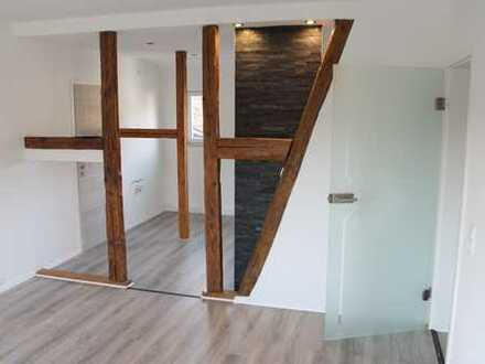 Erstbezug nach Sanierung: freundliche 3-Zimmer-Wohnung mit gehobener Innenausstattung in Benshausen