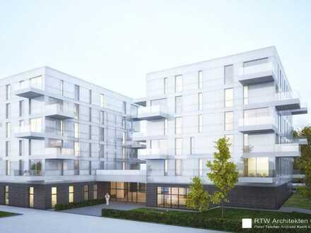 Erstbezug Hellwinkel Terrassen: Exklusive 4-Zimmer-Wohnung mit Einbauküche und Balkon