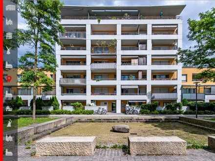 Urban und mitten im Grünen! Attraktive, neuwertige 2-Zimmer-Wohnung mit sonniger Westloggia