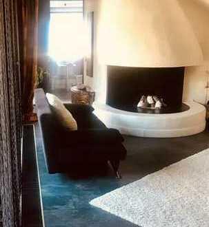 Helle Maisonette-Wohnung mit Dachterrasse und Einbauküche in Cloppenburg