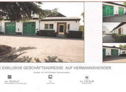 1. Miete FREI ! Exclusive Geschäftsadresse auf Hermannswerder Provisionfrei ! ca.7,83 €/m²