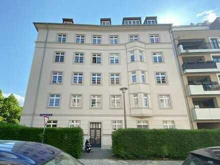 Gute Lage! 3-Raum-Wohnung in Dresden-Johannstadt an den Elbwiesen