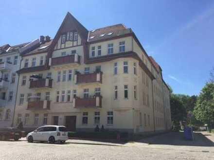 Gepflegte 2-Zimmer-Erdgeschosswohnung im Zentrum von Frankfurt (Oder)