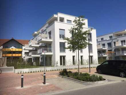 Erstbezug in zentraler Lage: 4-Zimmer-Wohnung mit Balkon in Hockenheim