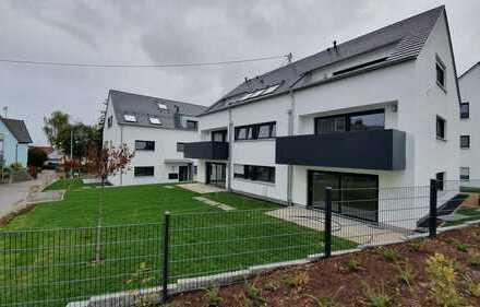 Erstbezug: exklusive 3-Zimmer-Wohnung mit Einbauküche und Balkon in Bittenfeld