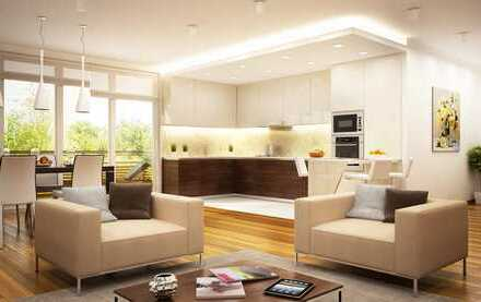 NEUBAU I PROVISIONSFREI I 4-Zimmer-Wohnung mit großem Balkon I unverbauter Blick in den Aurachgrund