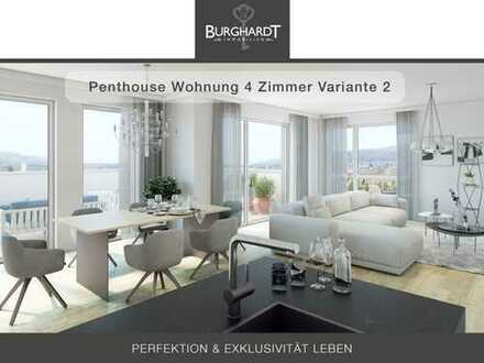 Bad-Vilbel - Niederberg: 4 Zimmer Penthouse- Wohnung für den gehobenen Anspruch mit Taunusblick