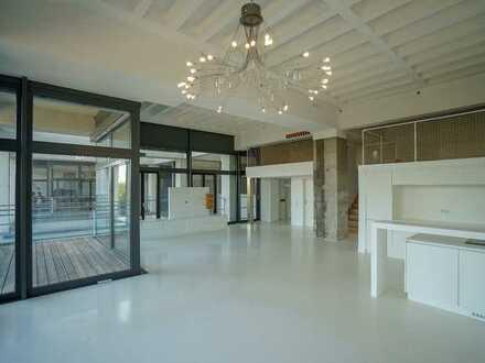 Exklusive Loft-Wohnung im Stadtregal